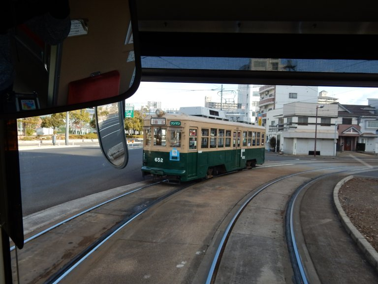 Hiroshima Electric Railway car 652