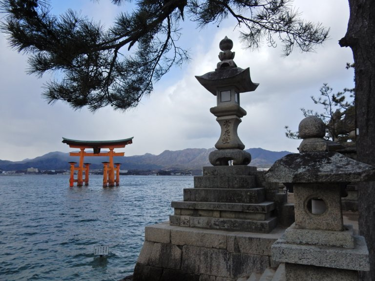 Miyajima's Itsukusjima Shrine gate