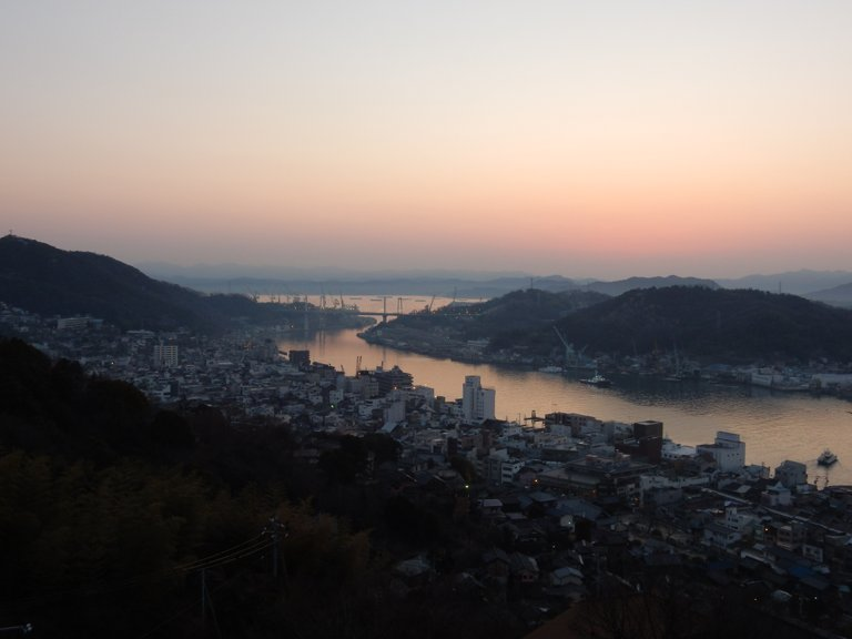 Sunrise at Onomichi