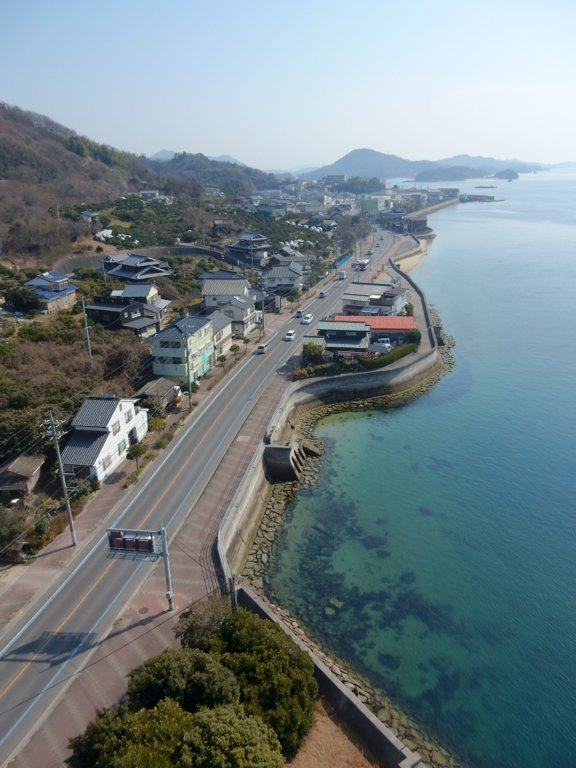 View of coast from Shimanami Kaidou