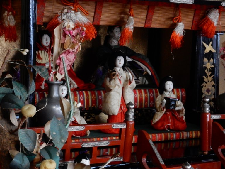 Hina dolls in Takehara