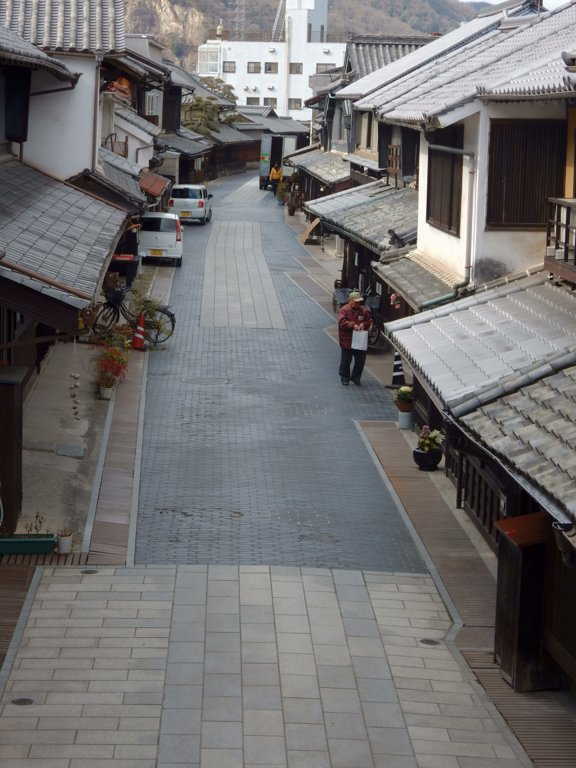View of street in Takehara's historical district
